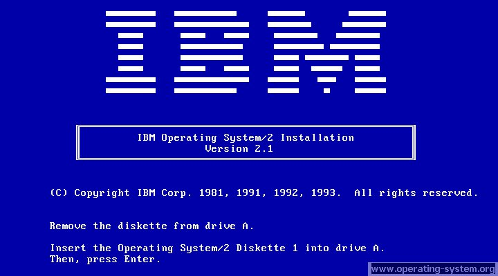 Screenshot ibm os2 21 01