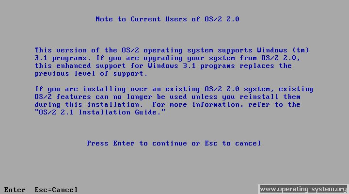 Screenshot ibm os2 21 03