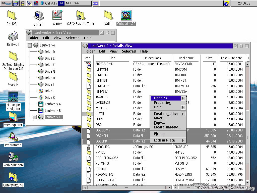 Screenshot ibm os2warp4 a5