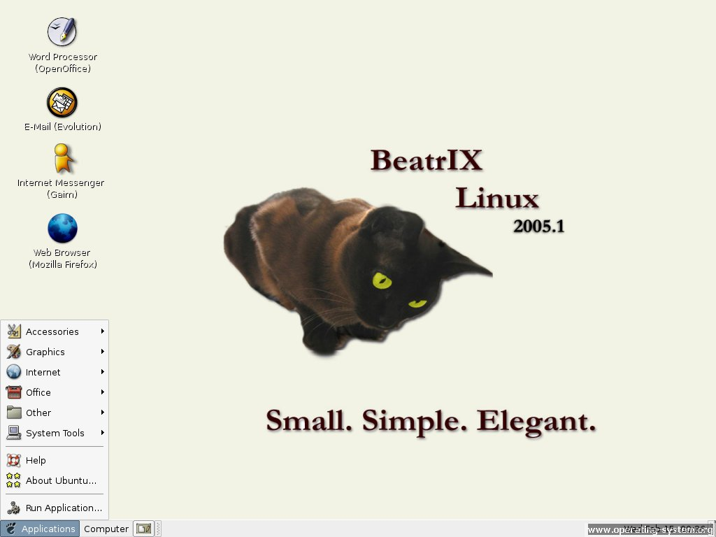 Screenshot linux beatrixlinux 01