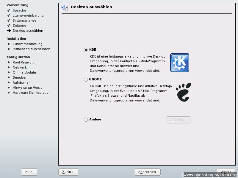 Screenshot linux suse suse100 03