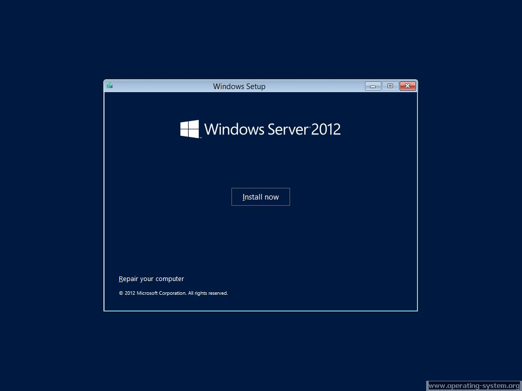 Screenshot microsoft server windows server 2012 03