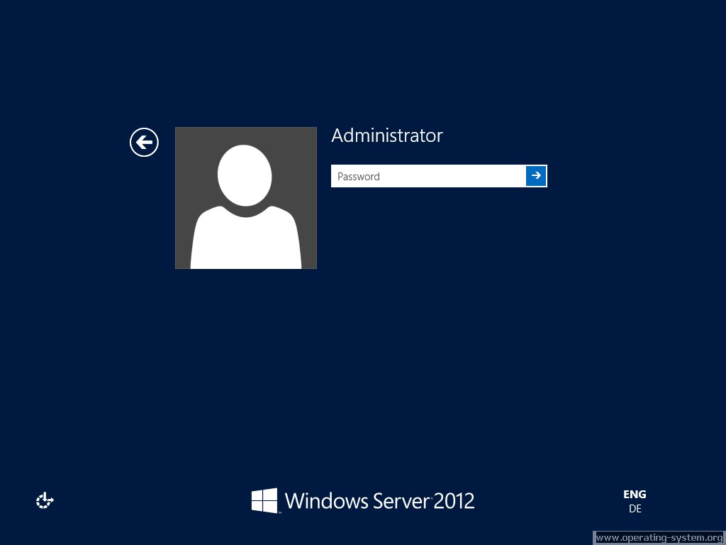 Screenshot microsoft server windows server 2012 11