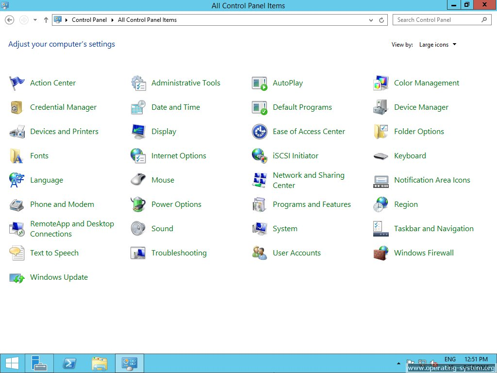 Screenshot microsoft server windows server 2012R2 29