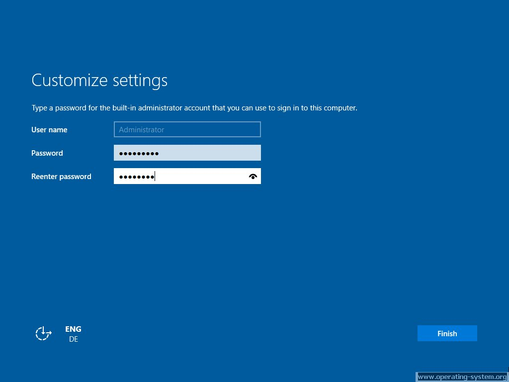Screenshot microsoft server windows server 2016 10