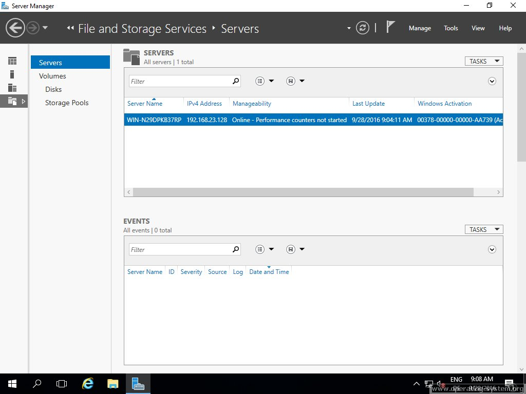 Screenshot microsoft server windows server 2016 16