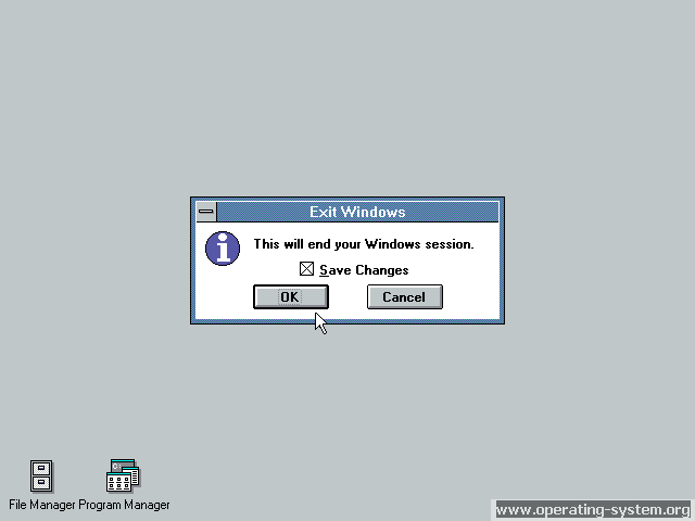 Screenshot microsoft win3 windows30 14