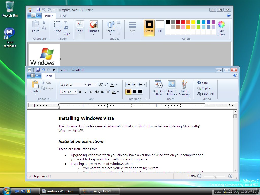 Screenshot microsoft win7 windows7 6801 06