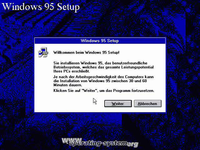 Screenshot microsoft win95c win95c 01
