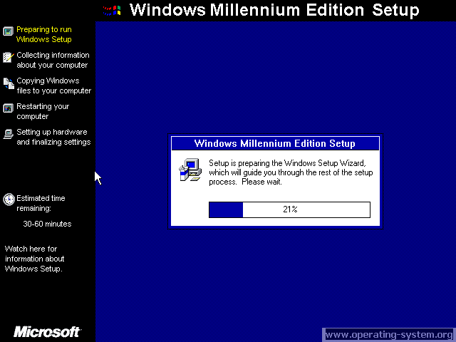 Screenshot: microsoft winme windowsme final 01