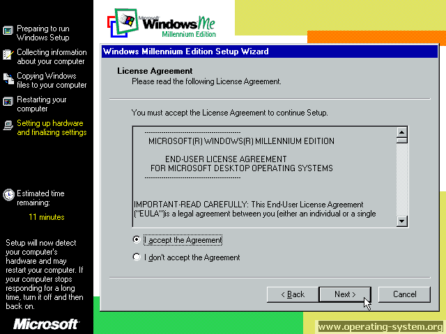 Screenshot microsoft winme windowsme final 15