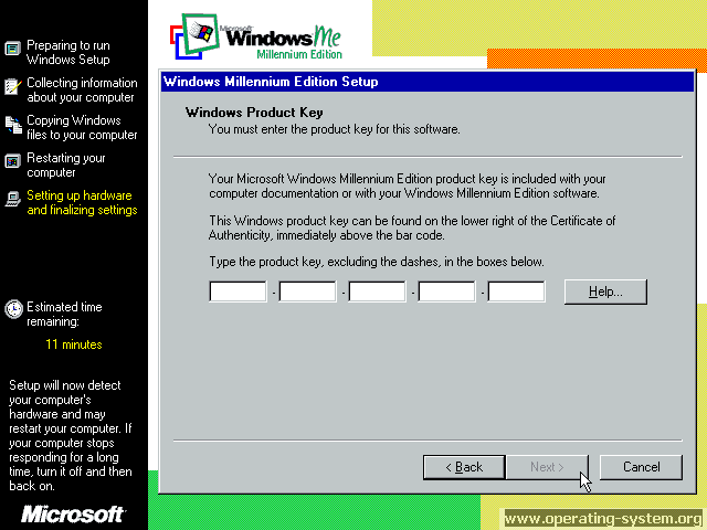 Screenshot microsoft winme windowsme final 16