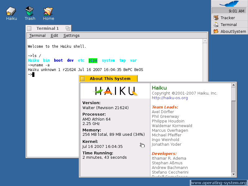 Screenshot os haiku 02