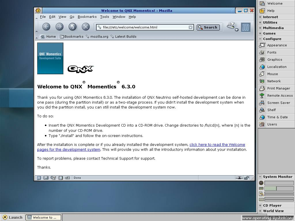 Screenshot os qnx630 23