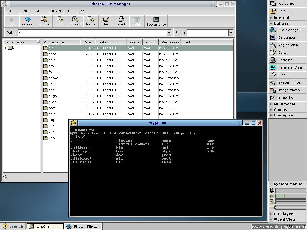 Screenshot os qnx630 24
