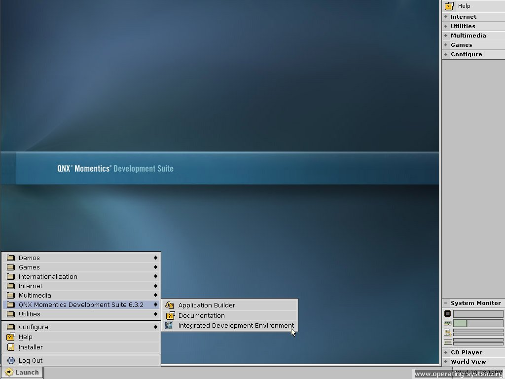 Screenshot os qnx632 05